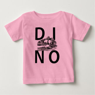 DINO - Pink Baby Fine Jersey T-Shirt