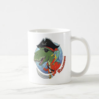 Dino Pirate Coffee Mug