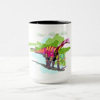DINO_Rapetosaurus krausei 15oz  Doodle Mug