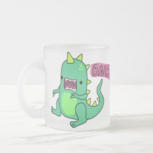 Dino Rawr Coffee Mug