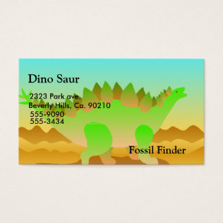 Dino Rawr Set Business Card