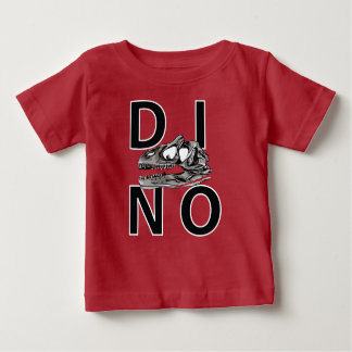 DINO - Red Baby Fine Jersey T-Shirt