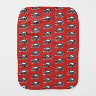 DINO - Red Burp Cloth