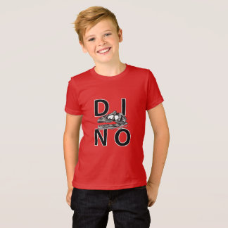 DINO - Red Kids' American Apparel Fine Jersey T-Sh T-Shirt