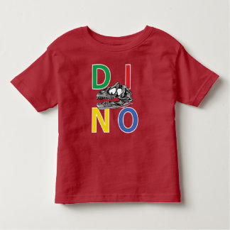 DINO - Red Toddler Fine Jersey T-Shirt