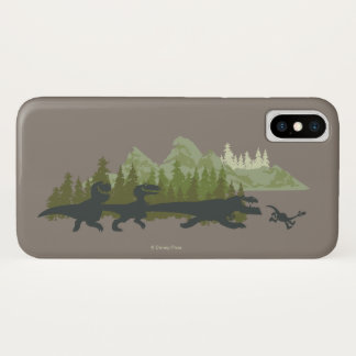 Dino Silhouettes Running Case-Mate iPhone Case