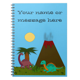 Dino Style Notebook