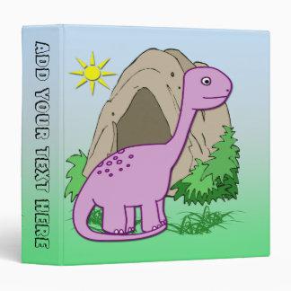 """Dino the Dinosaur  1.5"""" Binder"""