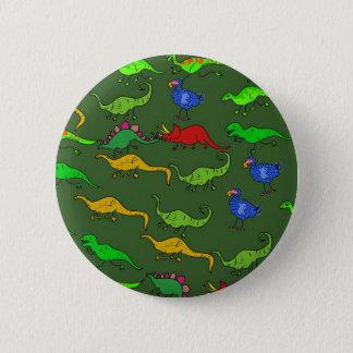 Dino Wallpaper 2 Inch Round Button