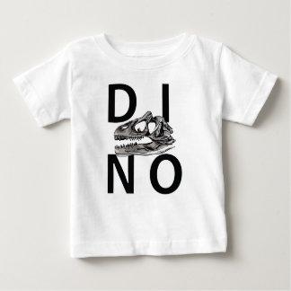 DINO - White Baby Fine Jersey T-Shirt