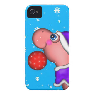 Dino's Holiday iPhone 4 Case-Mate Case