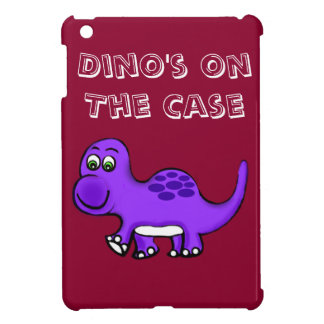 Dino's On The Case iPad Mini Cover