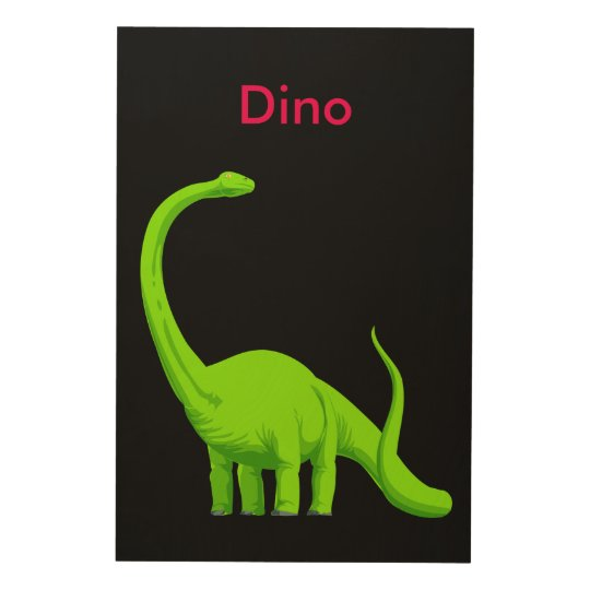 "Dinosaur 24""x36"" Wood Wall Art"