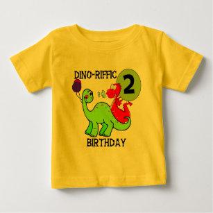 Dinosaur 2nd Birthday T Shirts And Gifts