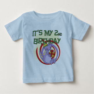 Dinosaur 2nd Birthday Tshirts and Gifts