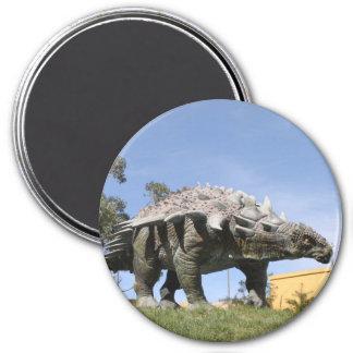 Dinosaur - Ankylosaurus Dinosaur in Sucre Bolivia Magnet