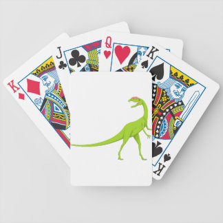 Dinosaur Bicycle Playing Cards