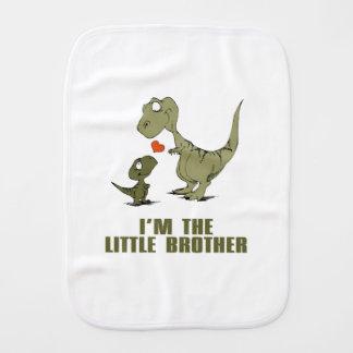 Dinosaur Brothers Burp Cloth