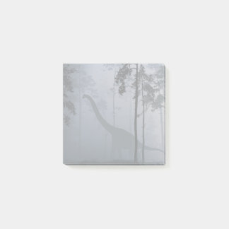 Dinosaur by Moonlight Post-it® Notes