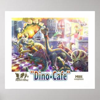 Dinosaur Cafe Poster