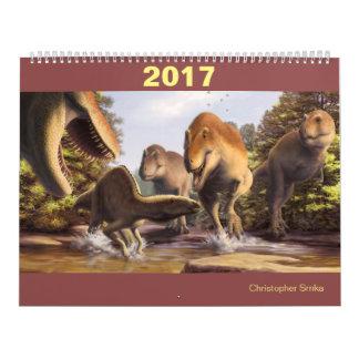 Dinosaur calendar