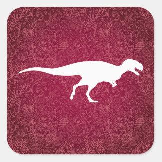 Dinosaur Carnivores Icon Square Sticker