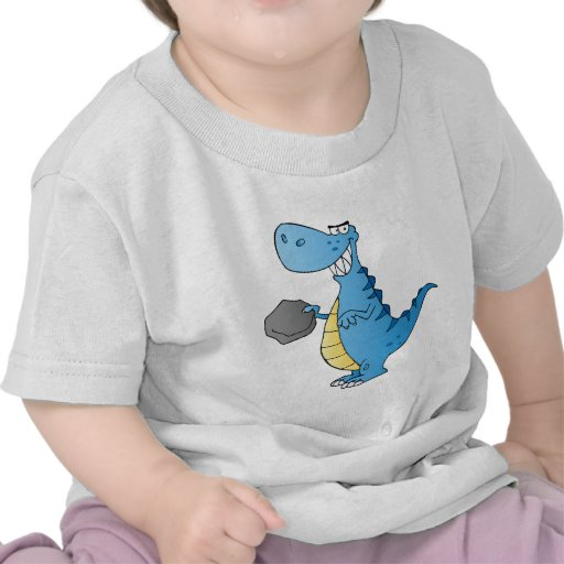 Dinosaur  Cartoon Character Shirts