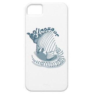dinosaur cartoon style illustration case for the iPhone 5