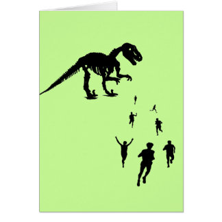 Dinosaur Chasey - Tag! You're IT! Card