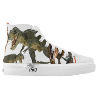 dinosaur composition high tops