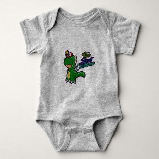 Dinosaur Costume Baby Bodysuit