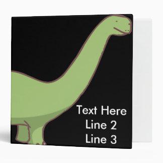 Dinosaur Custom Binder