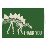 Dinosaur Dig Thank You Note Card