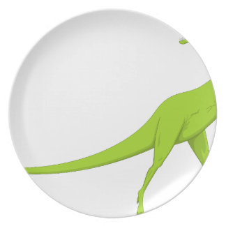 Dinosaur Dinner Plate
