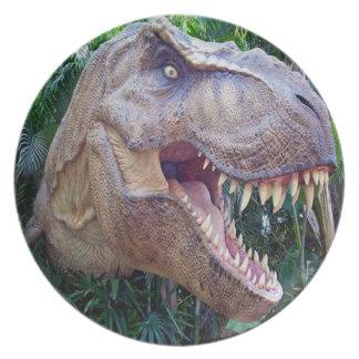 Dinosaur dinner plates for kids