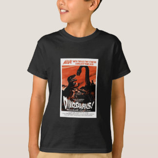 Dinosaur, Dino, Saurus Vintage Retro Cinema T-Shirt
