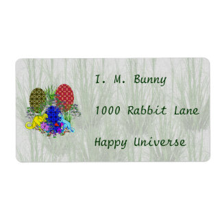 Dinosaur Easter Eggs Shipping Label