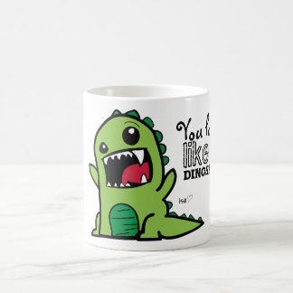 Dinosaur Face Coffee Mug