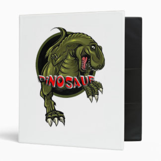 dinosaur filing cabinet vinyl binder