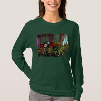 Dinosaur Friends 2 lowbrow fantasy Shirt