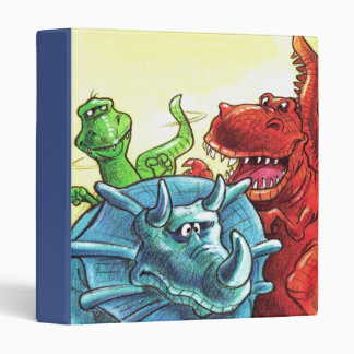 Dinosaur Friends Binders