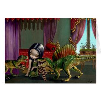 """Dinosaur Friends II"" Greeting Card"