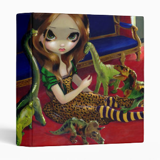 Dinosaur Friends III BINDER fantasy lowbrow art
