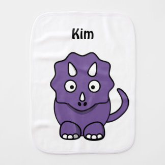 Dinosaur Fun Burp Cloth