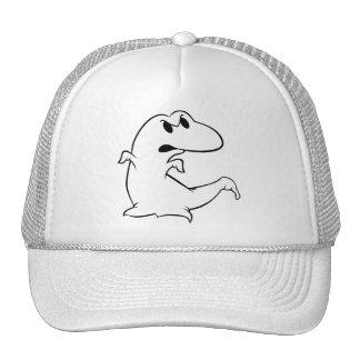 Dinosaur Ghost Trucker Hat