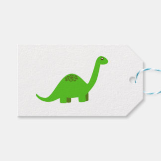 Dinosaur gift tags pack of gift tags