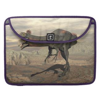 dinosaur_gigantoraptor_walking_landscape_standard. sleeve for MacBooks