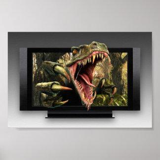 Dinosaur HDTV Mini Poster