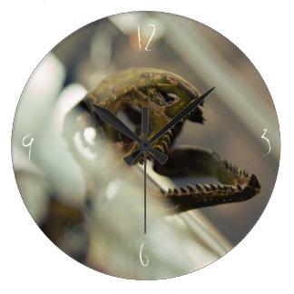 Dinosaur head large clock