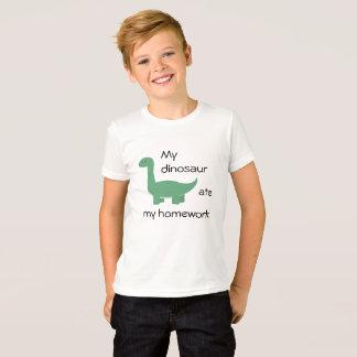 Dinosaur Homework Shirt